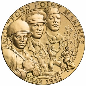 Montford Point Marines Gold Medal
