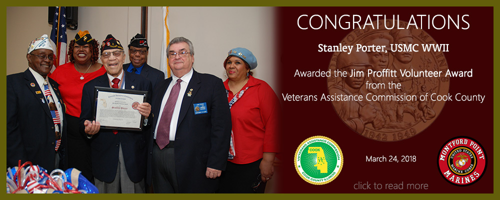 VACCC Award to Stanley Porter