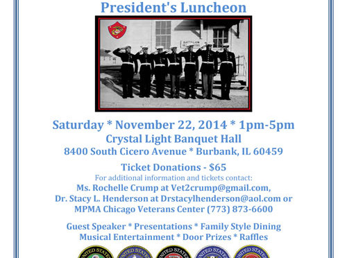 Presidents Luncheon 2014 flyer