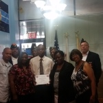 Montford Point Marine Association Chicago Chapter 2 Scholarship presentation 2016